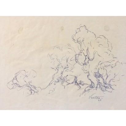 Ventosa, Josep. Boceto de...