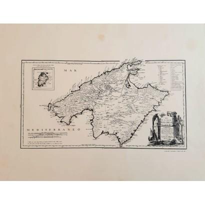 Mapa Mallorca y Cabrera