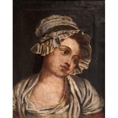 Anónimo. Retrato de una joven.