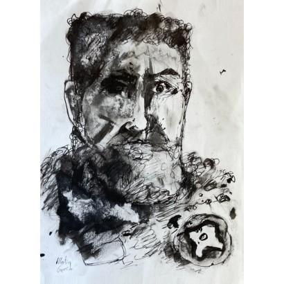 Garrido, Martín. Retrato.