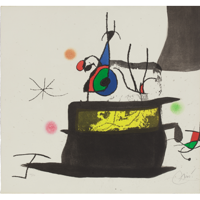 "Miró, Joan. ""Le carrosse..."