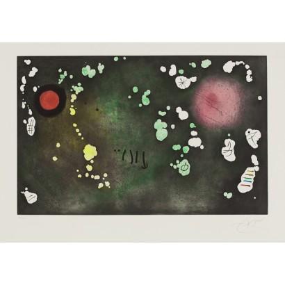 "Miró, Joan. ""Archipel sauvage V"""