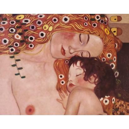 Klimt. ''Las tres edades de...