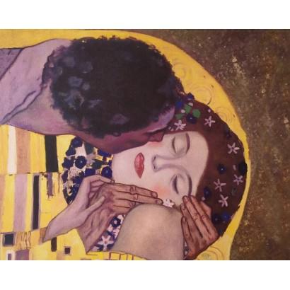 Klimt. El beso
