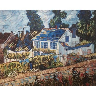Van Gogh. ''Casas en Auvers''