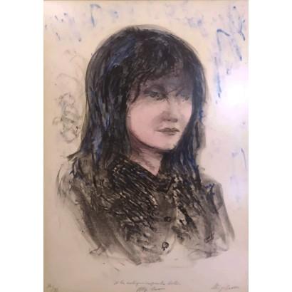 Sassu, Aligi. Retrato mujer