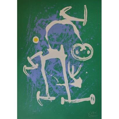 Miró, Joan. ''L'illetrée...