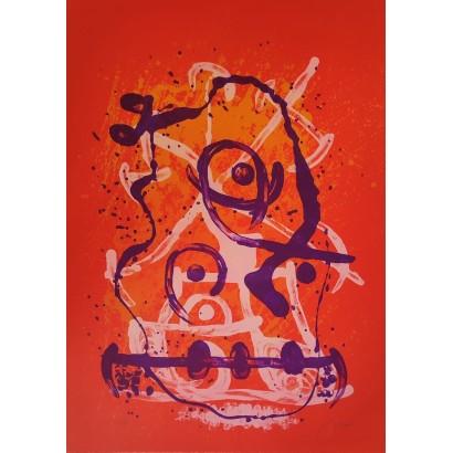 Miró, Joan. ''Chevauchée...