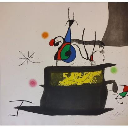 Miró, Joan. ''Le carrosse...