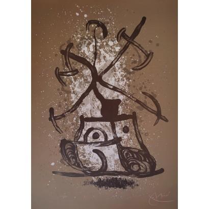 Miró, Joan. ''L'entraîneuse...