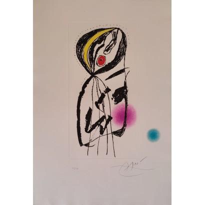 Miró, Joan. ''La paludéenne''