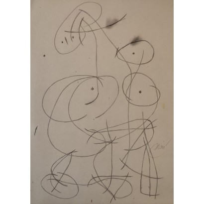 copy of Miró, Joan. ''Femme''