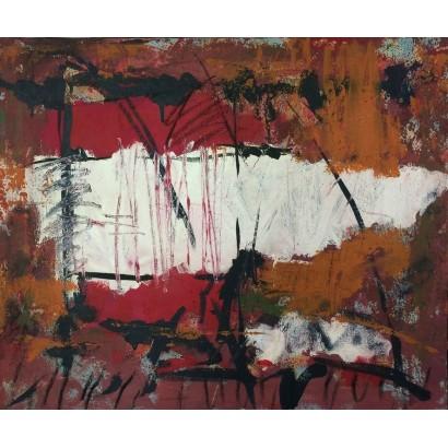 Coll, Pep. Óleo abstracto